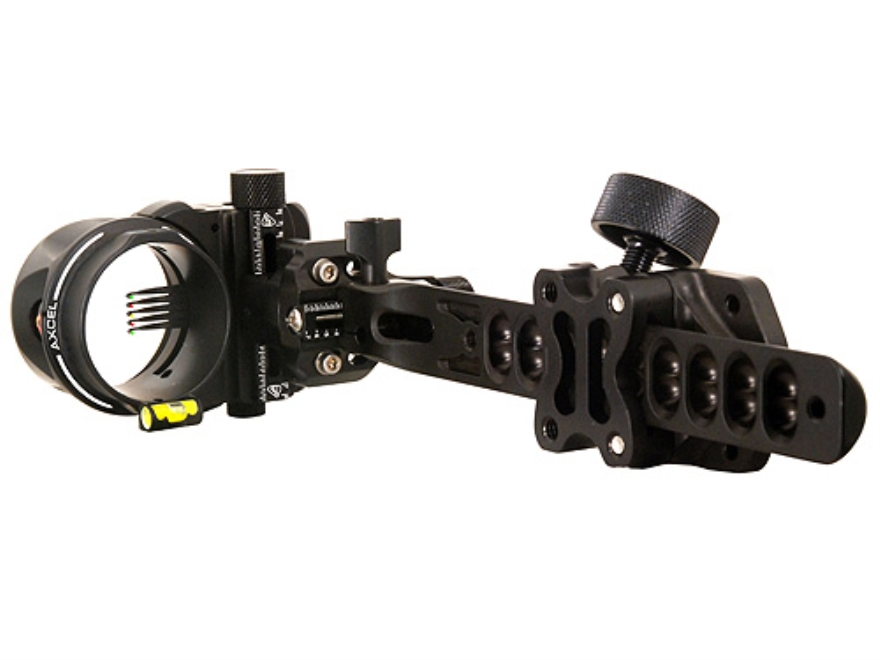 "T.R.U. Ball Axcel ArmourTech Pro 5-Pin Bow Sight .019"" Pin Diameter Aluminum Black"