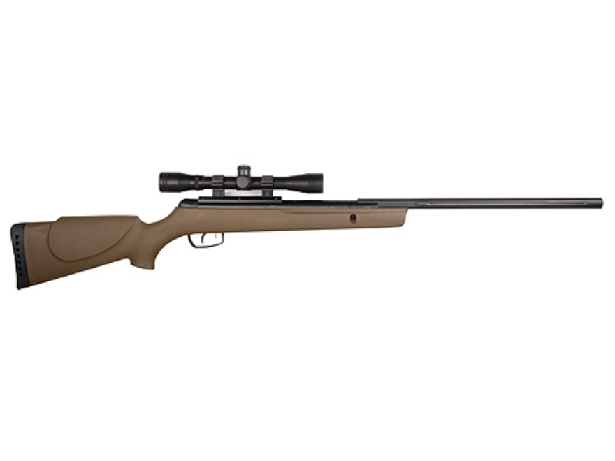 Gamo Rocket Air Rifle 177 Caliber Olive Drab Synthetic Stock Blue Barrel with Gamo Airg...