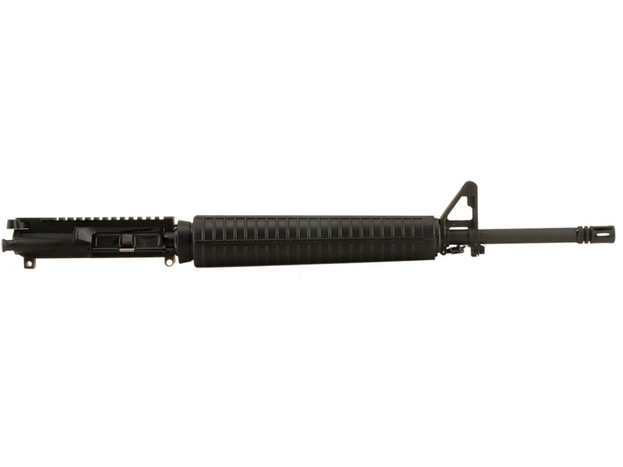 "Olympic Arms AR-15 A3 Upper Receiver Assembly 223 Remington 20"" Barrel Chrome Moly Matt..."