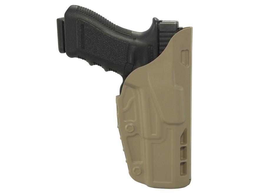 Safariland 7379 7TS ALS Concealment Belt Clip Holster Right Hand Polymer Glock 26, 27 F...