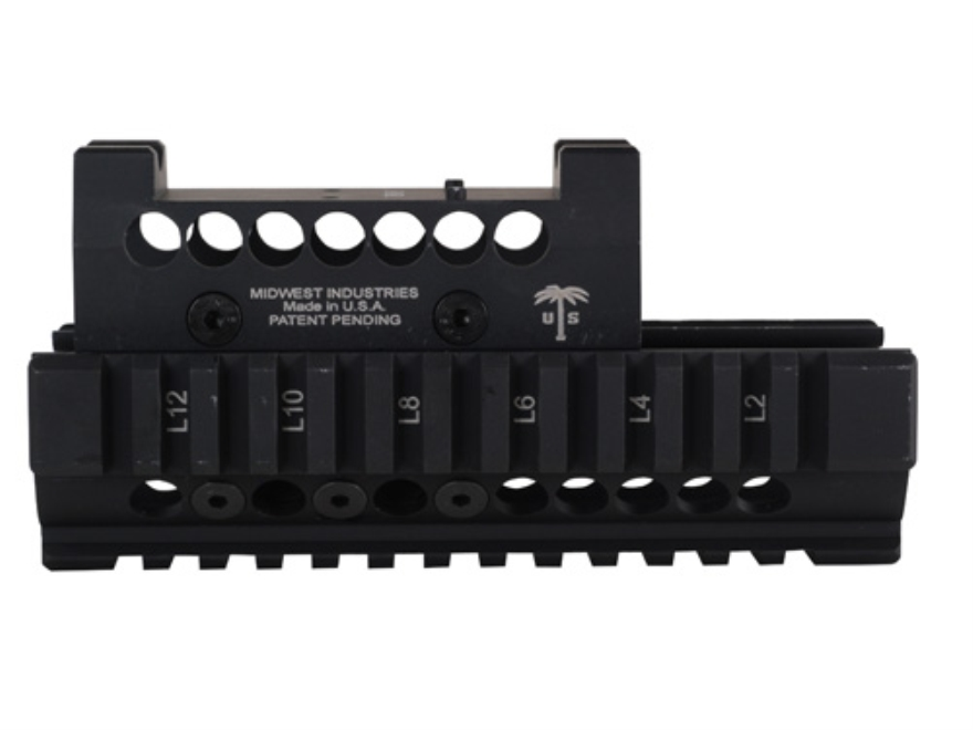 Midwest Industries US Palm 2-Piece Railed Handguard AK-47, AK-74 with Trijicon RMR Top ...