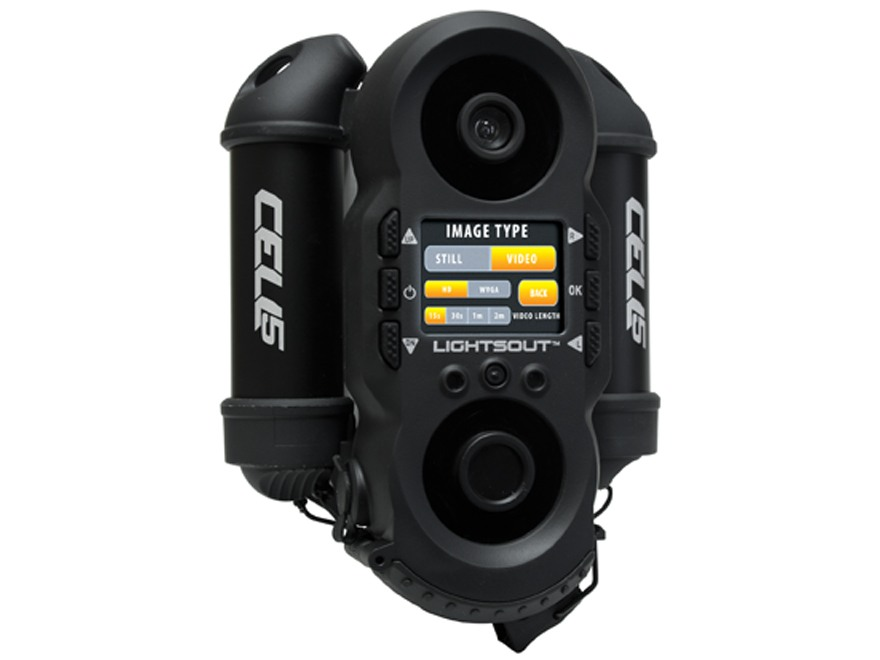 Wildgame Innovations Cell 5 Wireless Black Flash Infrared Game Camera 5.0 Megapixel Black