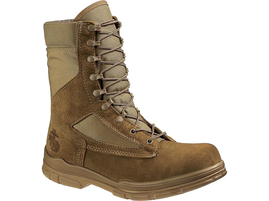 "Bates USMC Lightweight Durashocks 8"" Tactical Boots Leather/Nylon Men's"