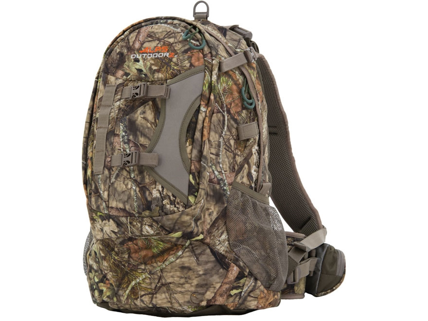 ALPS Outdoorz Pursuit Backpack Polyester Mossy Oak Country Camo