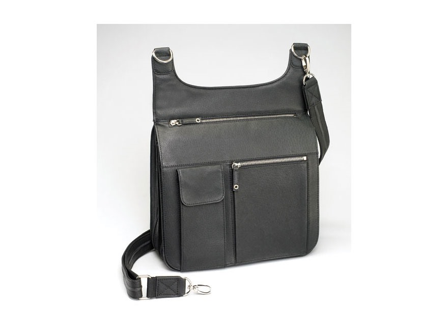 Gun Tote'N Mamas Jennifer's Traveler Shoulder Bag Black