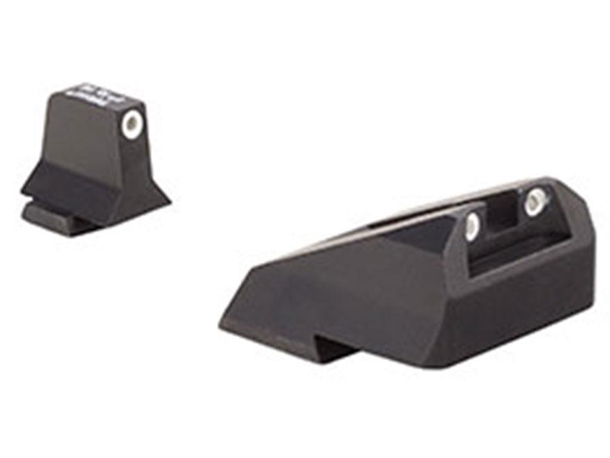 Trijicon Bright & Tough Suppressor Night Sight Set S&W M&P, SD9 VE, SD40 VE Steel Matte...