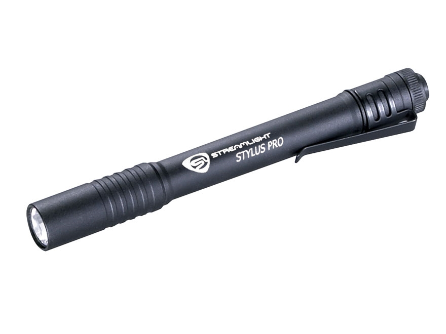 Streamlight Stylus Pro Flashlight LED with 2 AAA Batteries Aluminum Matte