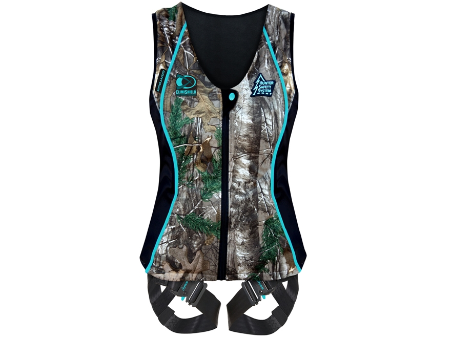 Hunter Safety System Contour Treestand Safety Harness Realtree Xtra Camo