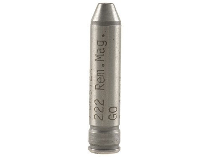 Forster Headspace Go Gauge 222 Remington Magnum
