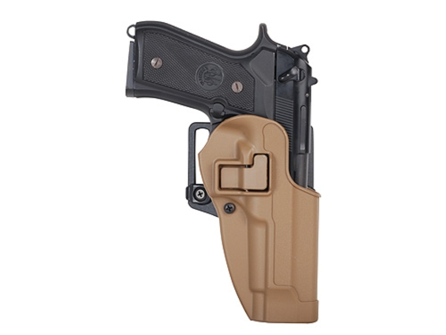 BLACKHAWK! CQC Serpa Holster Right Hand S&W M&P, SD9, Sigma 9mm, 40 S&W Polymer Coyote Tan