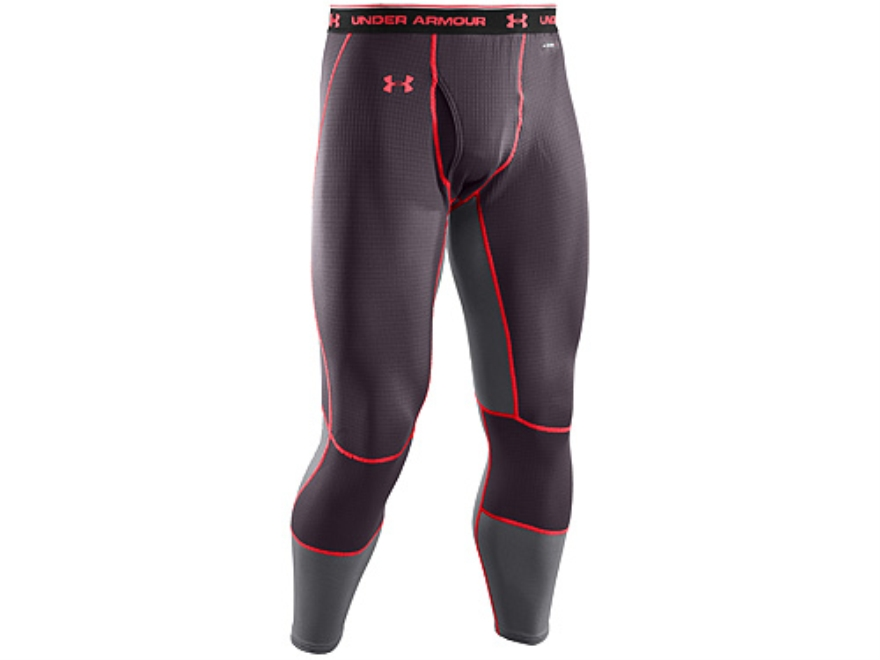 Under Armour Men's ColdGear Basemap 2.5 Long Underwear Pants Synthetic