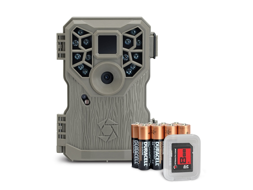 Stealth Cam PX14 Field Ready Infrared Game Camera Combo 10 Megapixel Brown