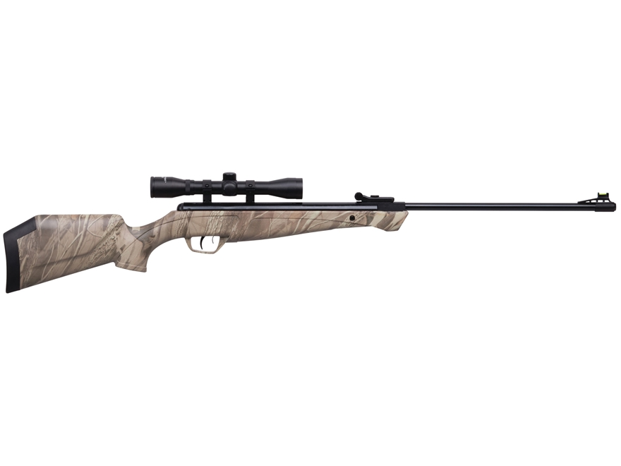 Crosman Stealth Shot Nitro Piston Break Barrel Air Rifle 177 Caliber Pellet Camo Synthe...