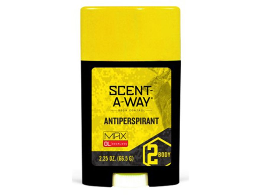 Hunter's Specialties Scent-A-Way MAX Odorless Scent Elimination Anti-Perspirant Deodera...