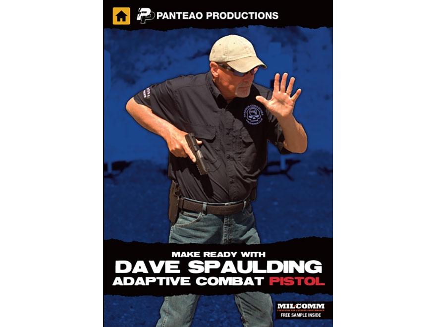 "Panteao ""Make Ready with Dave Spaulding: Adaptive Combat Pistol"" DVD"