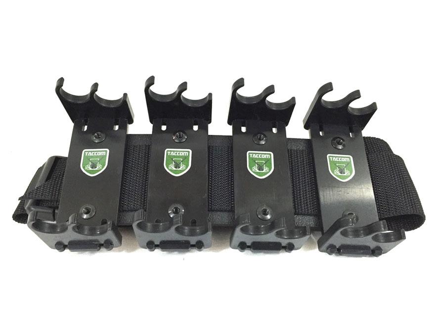 Taccom Sport Series 16S4 Shotshell Ammunition Carrier Chest Rig 12 Gauge 16-Round Polym...