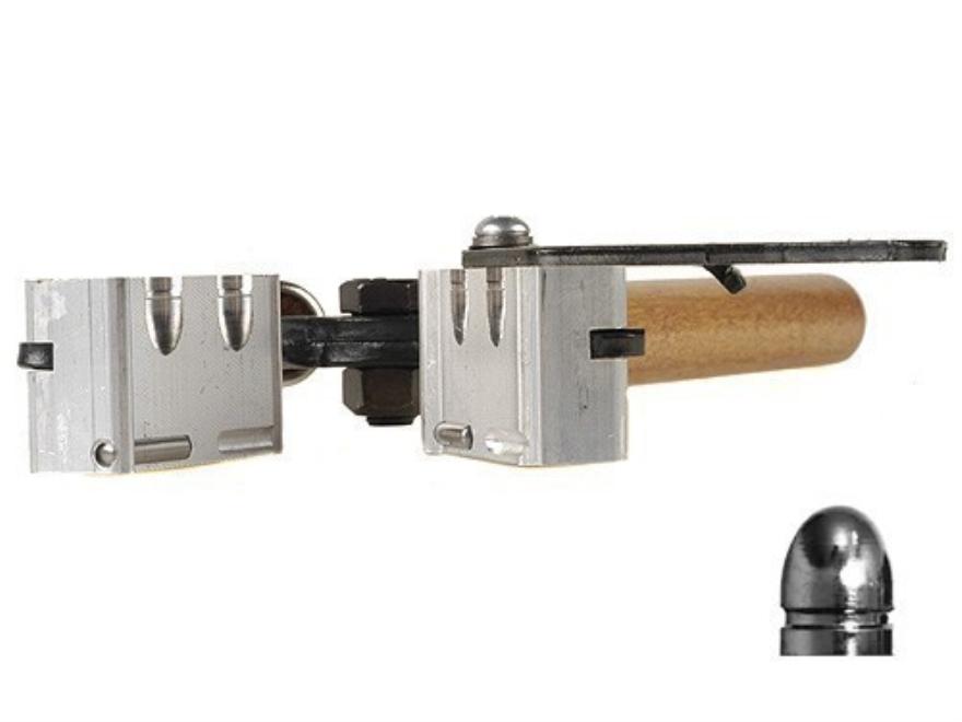 Lee 2-Cavity Bullet Mold 356-102-1R 9mm Luger, 38 Super, 380 ACP (356 Diameter) 102 Gra...