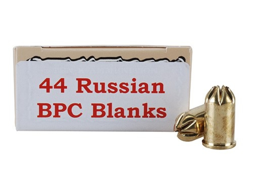 Ten-X Ammunition 44 Russian Pistol Blank BPC Box of 50