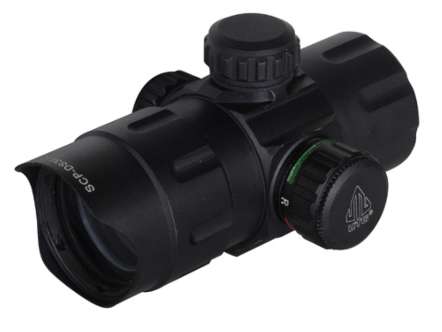 Leapers UTG Red Dot Sight 38mm Tube 1x 4 MOA Red and Green Dot with Low and Medium Quic...