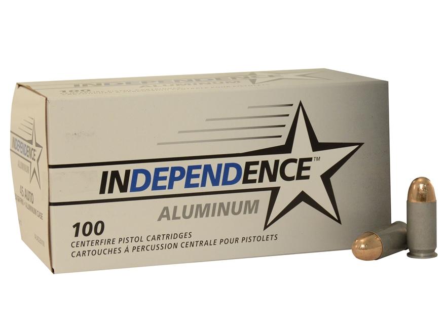 Independence Ammunition 45 ACP 230 Grain Full Metal Jacket Box of 100