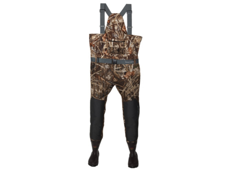Banded Playmaker Hybrid Uninsulated Chest Waders Neoprene and Polyester Realtree Max-4 ...