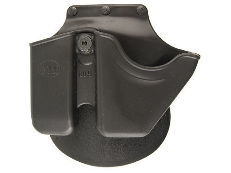 Fobus Paddle Handcuff and Magazine Carrier All 9mm Luger Double-Stack Magazine Except G...