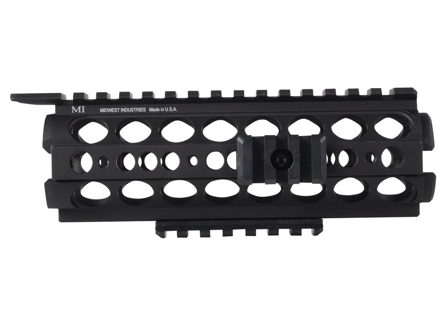 Midwest Industries SS-Series 2-Piece Drop-In Modular Rail Handguard AR-15 Carbine Lengt...