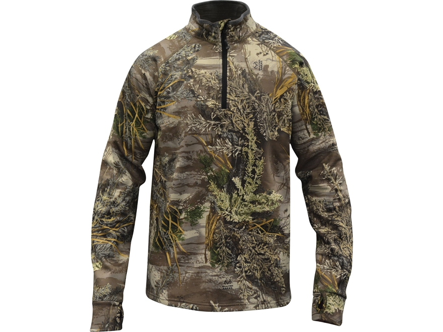 MidwayUSA Men's Elk Fork 1/4 Zip Long Sleeve Shirt