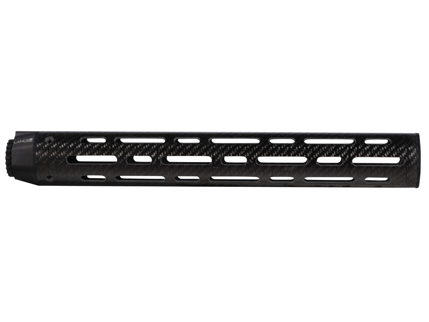 Lancer Systems LCH7 Free Float Tube Handguard LR-308 Carbine Length Vented Carbon Fiber