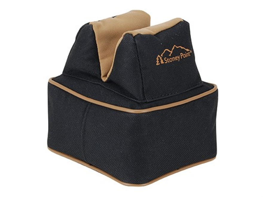 Stoney Point Compact Rear Shooting Rest Bag Nylon and Leather Filled