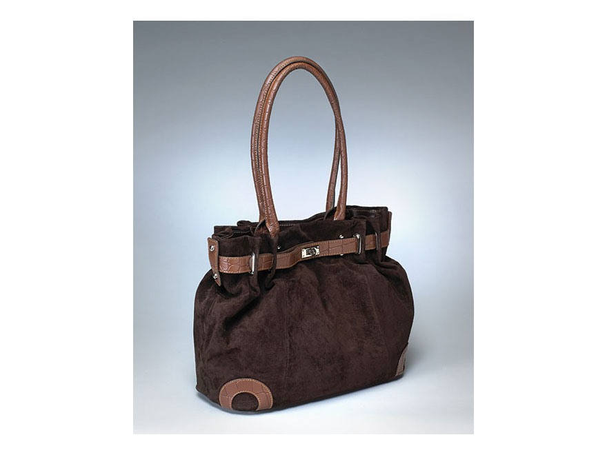 Gun Tote'N Mamas Legacy Handbag Leather Cocoa Brown
