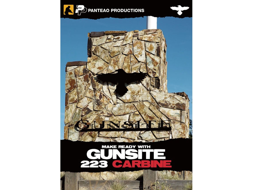 "Panteao ""Make Ready with Gunsite: 223 Carbine"" DVD"