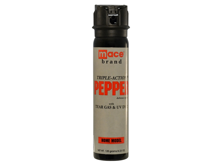 Mace Triple-Action Fogger Pepper Spray 95 Grams Aerosol 10% OC Plus Tear Gas and UV Dye...