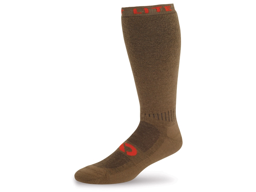 First Lite Mountain Athlete Cold Weather Socks Merino Wool Blend