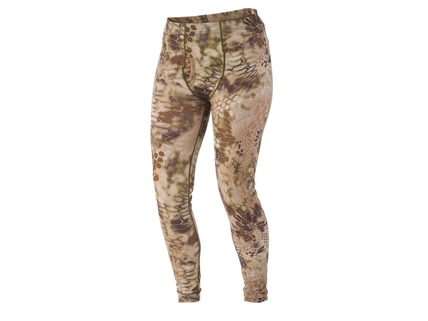 Kryptek Men's Hoplite Base Layer Pants Merino Wool Highlander Camo XL
