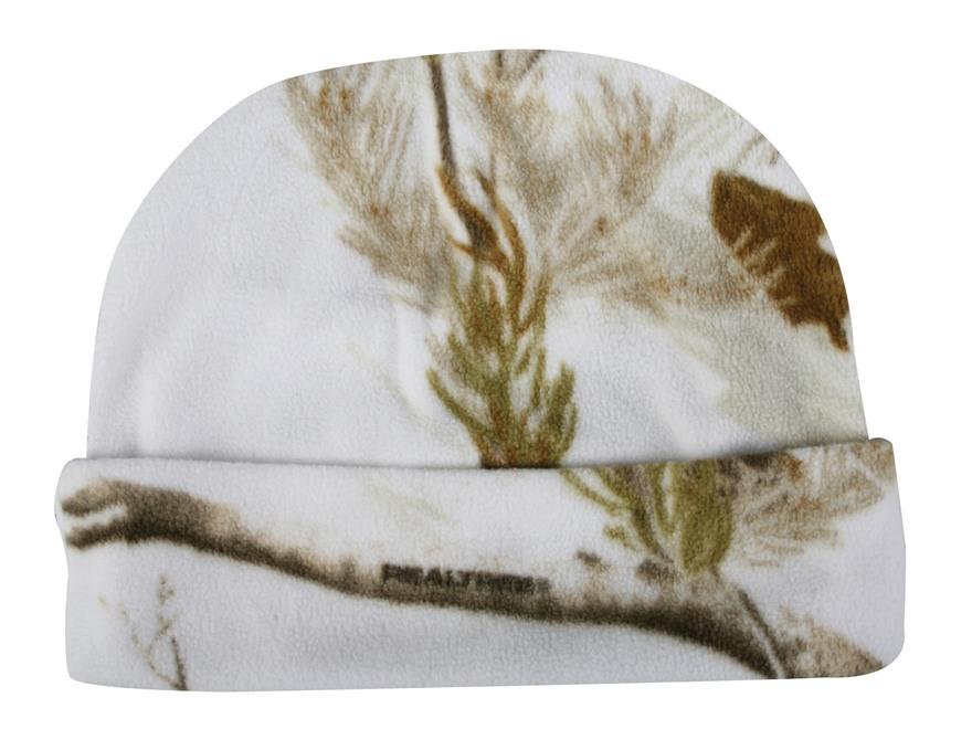Outdoor Cap Fleece Watch Cap Polyester Realtree AP Snow Camo