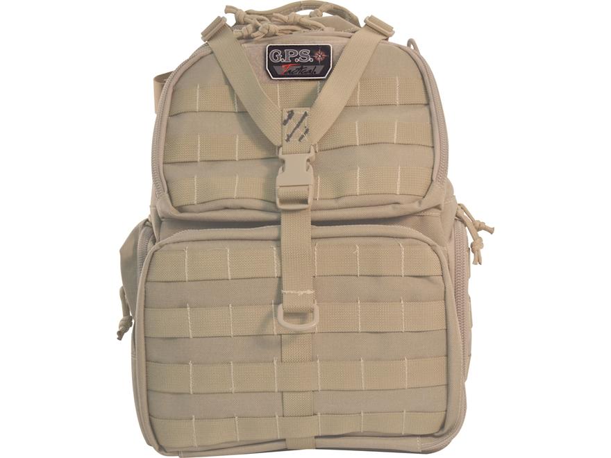 G.P.S. Tactical Range Bag Backpack
