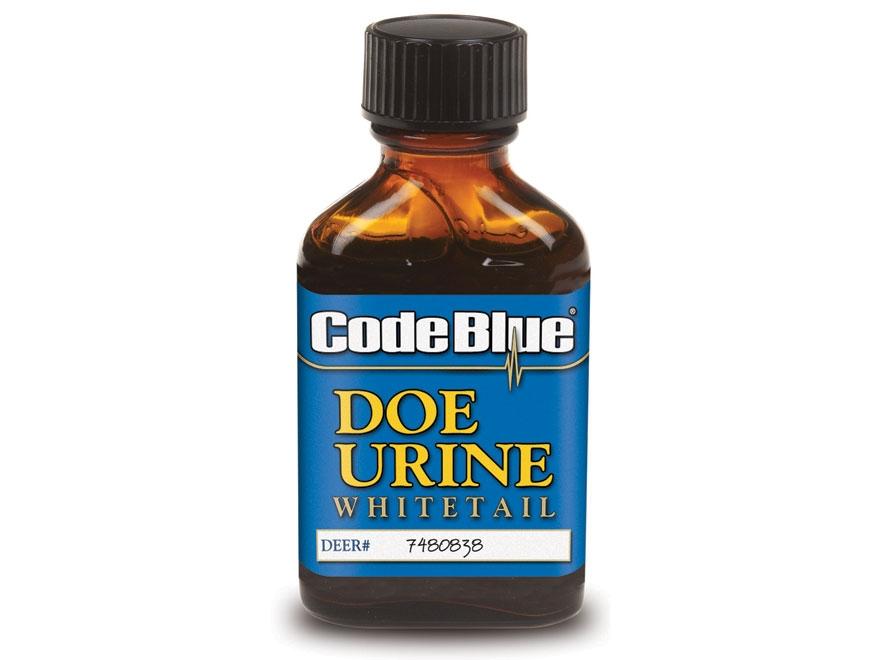 Code Blue Doe Urine Deer Scent Liquid 1 oz
