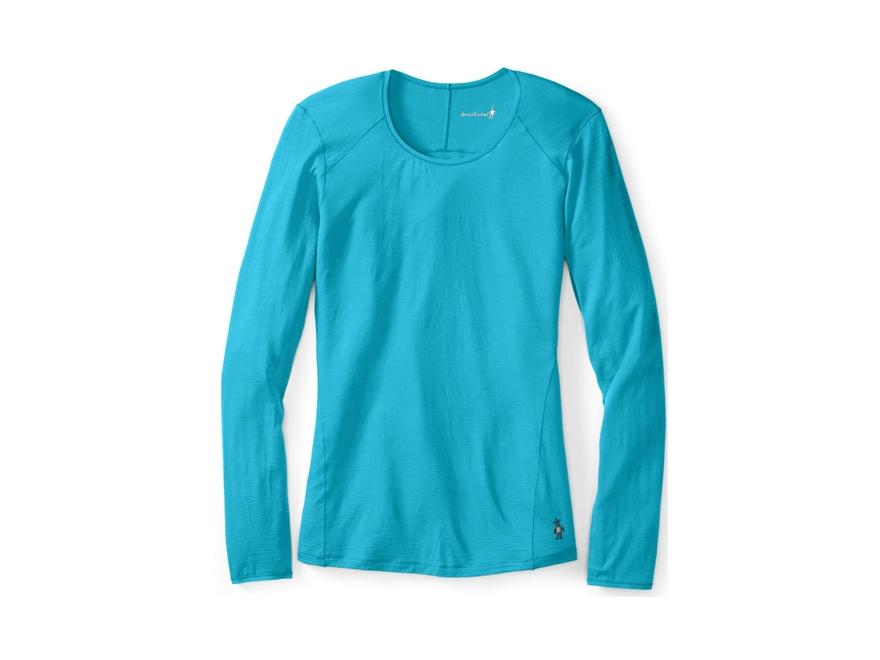 Smartwool Women's NTS Micro 150 Crew Base Layer Shirt Long Sleeve Merino Wool