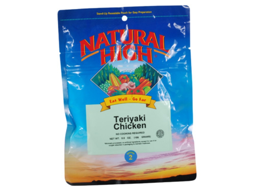 Natural High Chicken Teriyaki Freeze Dried Meal 5.25 oz