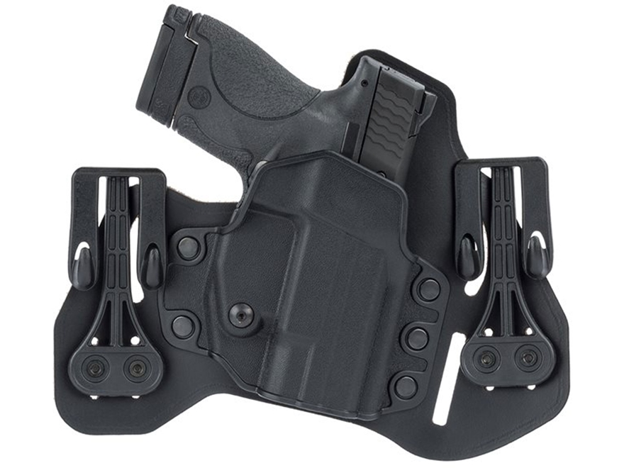 BLACKHAWK! Tuckable Pancake Inside the Waistband Holster Leather and Polymer Black