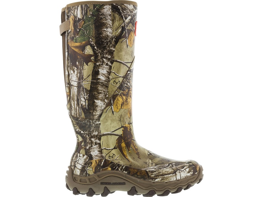 "Under Armour Haw'madillo 16"" Waterproof Uninsulated Hunting Boots Rubber Clad Realtree ..."