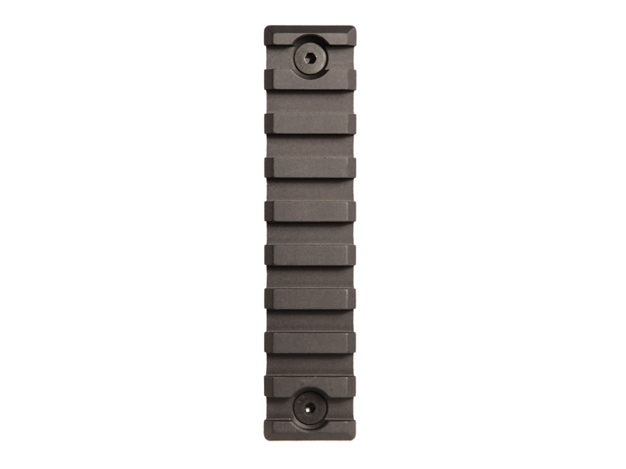 Midwest Industries KeyMod Rail Aluminum Black
