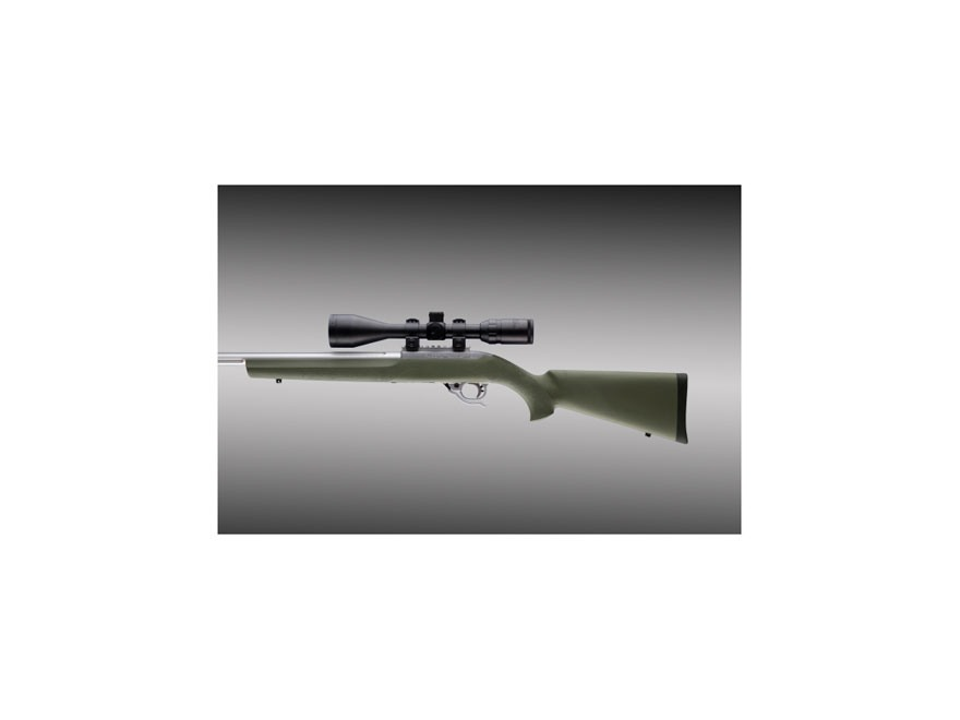 "Hogue OverMolded Rifle Stock Ruger 10/22 .920"" Barrel Channel"