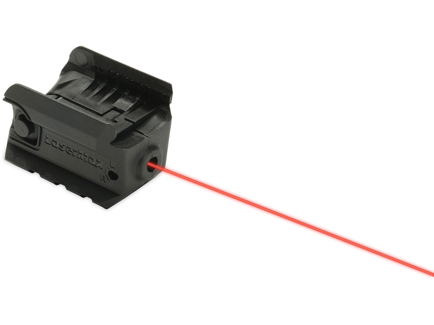 LaserMax Red Laser Sight Ruger SR22, SR9c, SR40c with Integral Picatinny-Style Mount Black