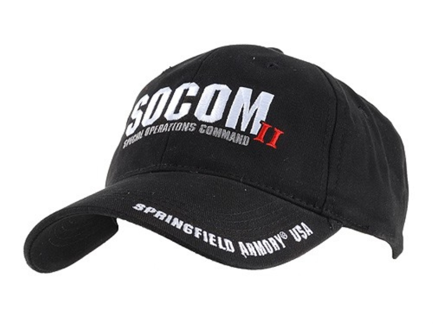 Springfield Armory SOCOM Cap Cotton Black