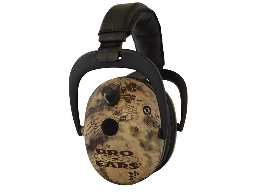 Pro Ears Predator Gold Electronic Earmuffs (NRR 26 dB) Highlander