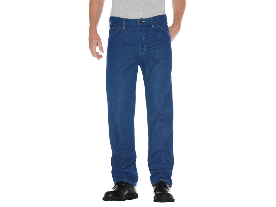 Dickies Men's Regular Straight Fit 5-Pocket Denim Jeans