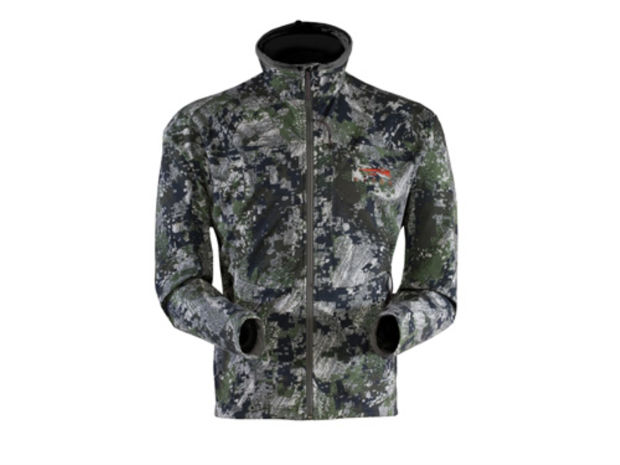 Sitka Gear Men's Ascent Jacket Polyester Gore Optifade Elevated Forest Camo Large 42-45