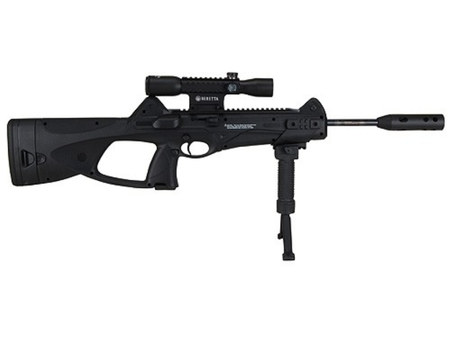 Beretta CX4 Storm XT Air Rifle 177 Caliber Black Synthetic Stock Blue Barrel with Scope...